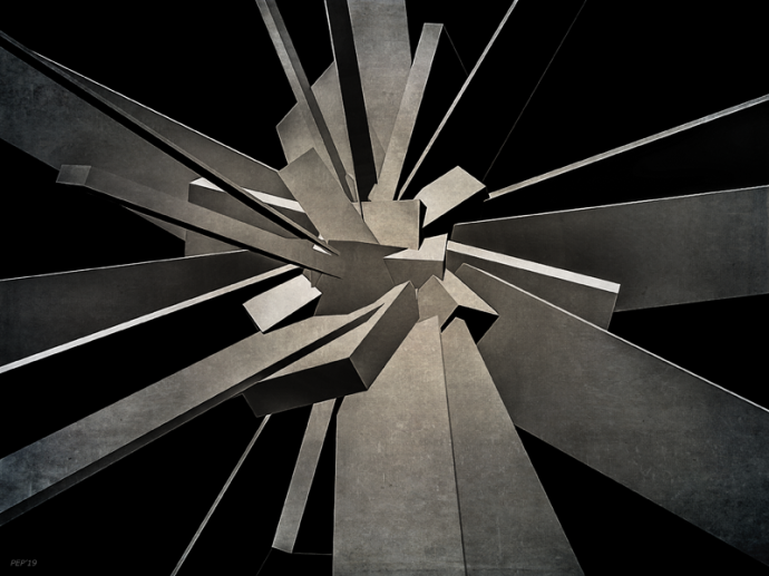 3D Concrete Blocks