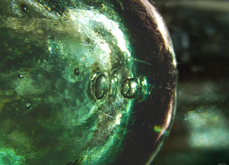 Antique Round Bottom Bottle