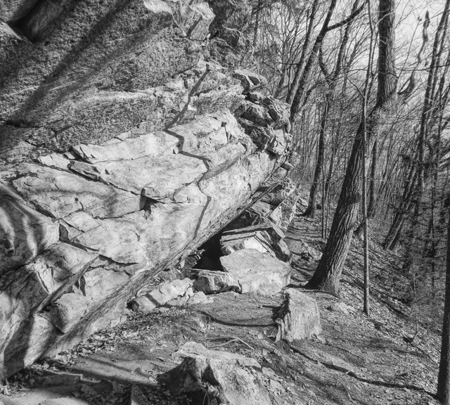 Black And White Mountain Trail