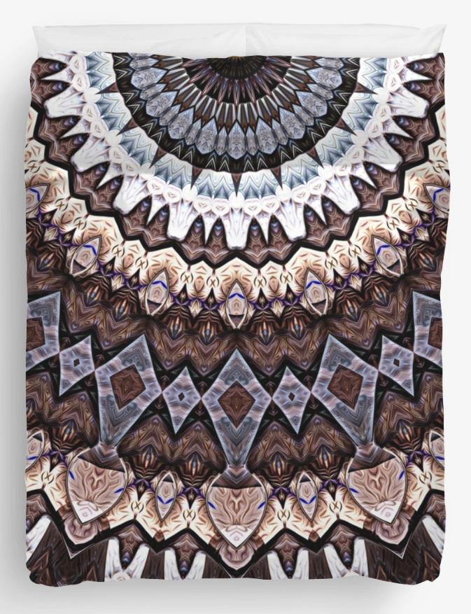 Abstract Mandala Sun