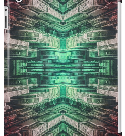 Abstract Mechanical iPad Case