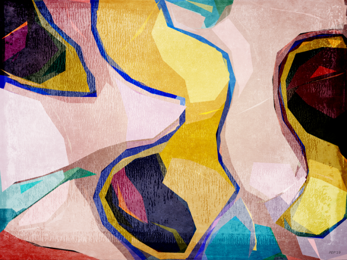 Chaotic Abstract Shapes