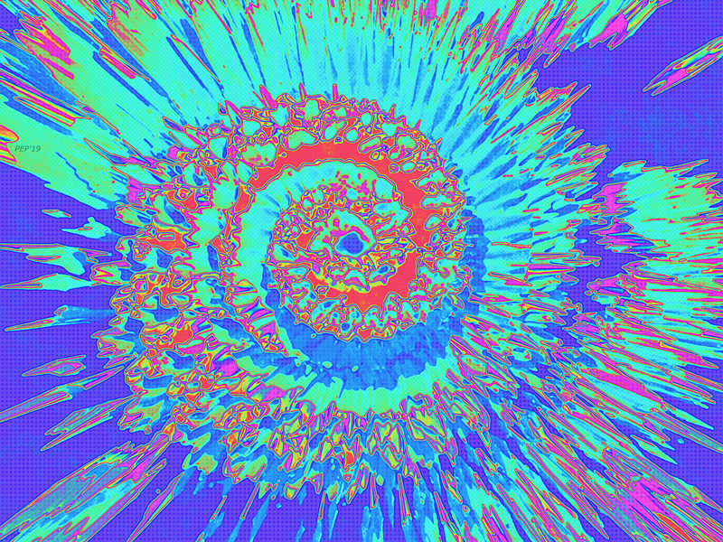 Pop Art Nautilus Fractal