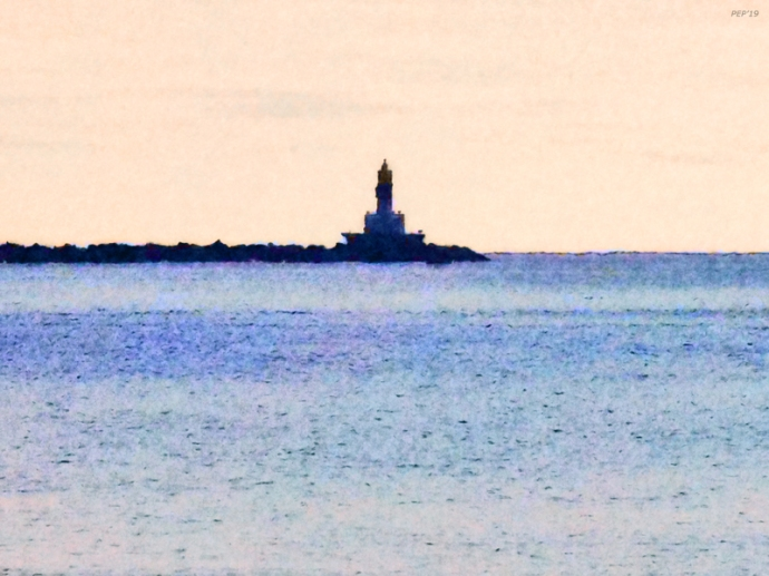 Lighthouse On Lake