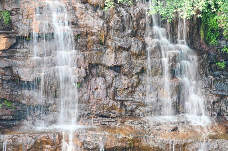 Fall Creek Falls, as seen using my zoom lens.